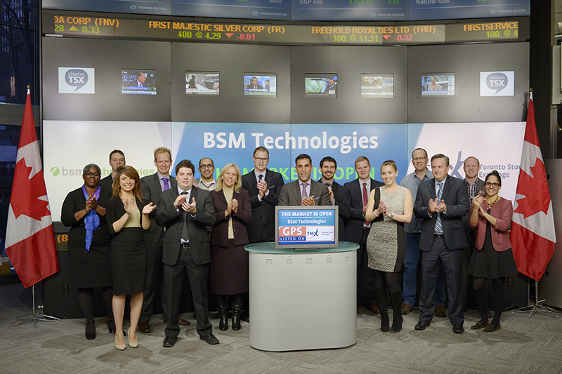 BSM Joins the Toronto Stock Exchange by Opening the Market!