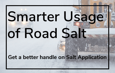 Smarter Usage of Road Salt